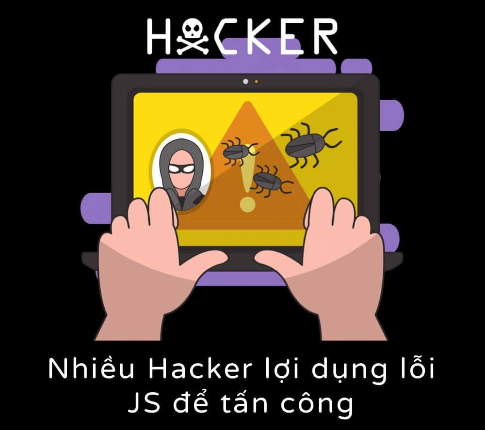 Nhiều hacker lợi dụng lỗi JS để tấn công
