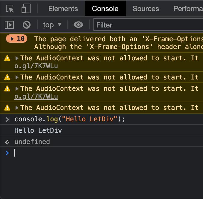 Chạy JavaScript trực tiếp bằng Developer Tool của Chrome